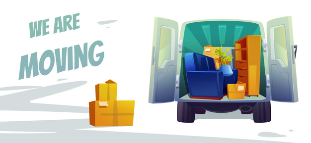 furniture delivery moving house service poster 107791 2121